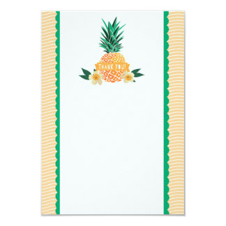 Luau Party Thank You Note Card
