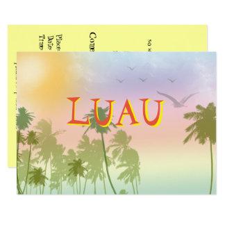 Luau Sweet Sixteen Invitation Hawaiian
