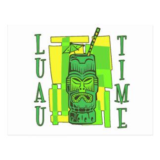 Luau Time Postcard