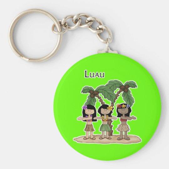Luau Trio Keychain