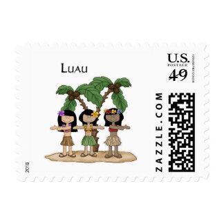 Luau Trio Postage Stamp