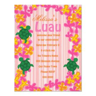 Luau Turtles Card