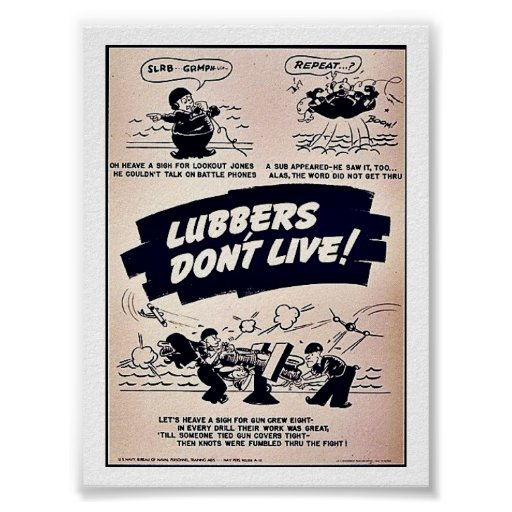 Lubbers Don't Live! Poster