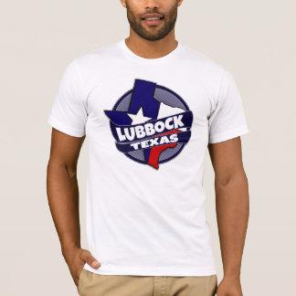 Lubbock Texas flag burst tshirt
