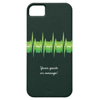 Lubdub Green Customisable Phone Case. iPhone SE/5/5s Case