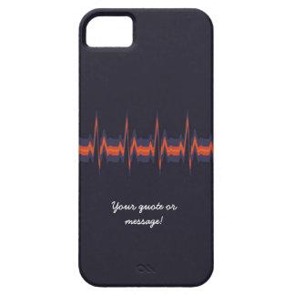 Lubdub Purple Customisable Phone Case. iPhone SE/5/5s Case