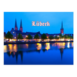 Lubeck 002E Postales