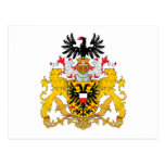 Lubeck Coat of Arms Postcard