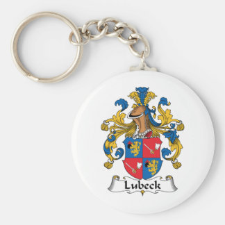 Lubeck Family Crest Key Chains