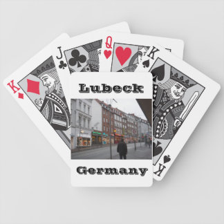 Lubeck Germany Bicycle Playing Cards