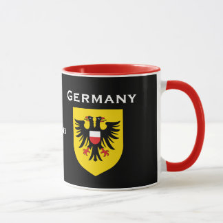Lubeck - Germany Custom Crest and Flag Mug