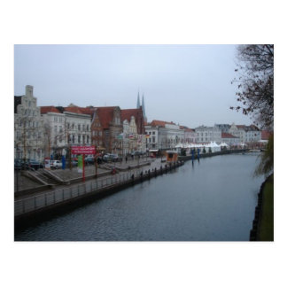 Lubeck Germany Postcard