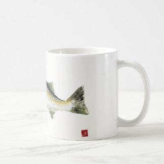 Lubina rayada tazas de café