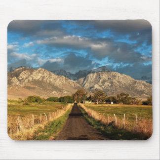 Lubken Canyon Road Mouse Pad