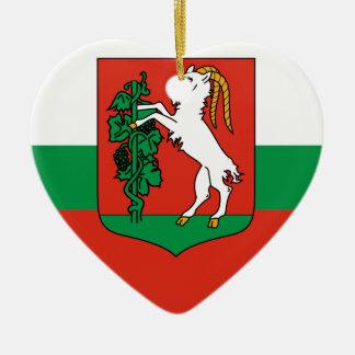 Lublin, Polonia Adorno De Cerámica En Forma De Corazón