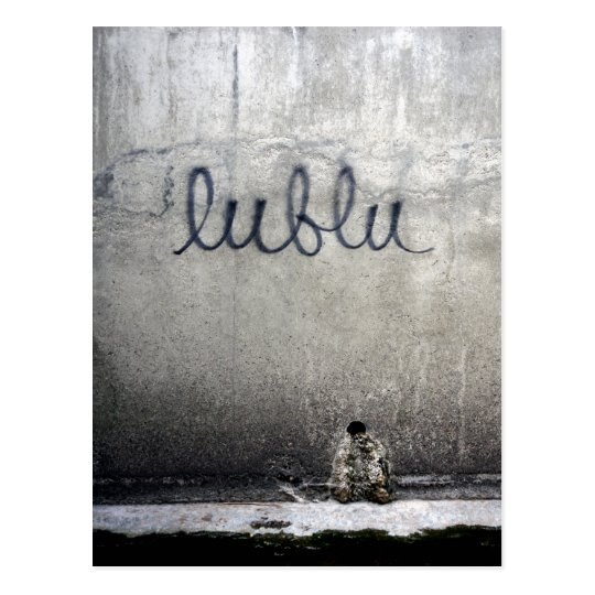 Lublu = Love in Russian Postcard