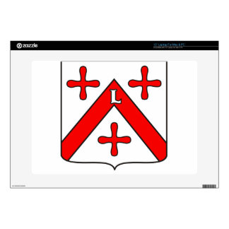 "Lubumbashi_coat_of_arms Skin For 15"" Laptop"