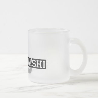 Lubumbashi Frosted Glass Coffee Mug
