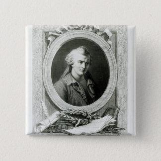 Luc de Clapiers  Marquis of Vauvenargues Button