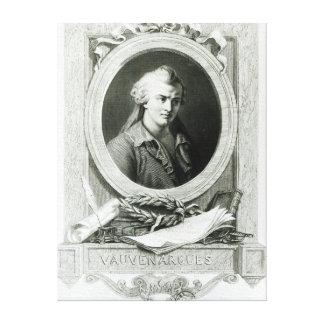 Luc de Clapiers  Marquis of Vauvenargues Canvas Print