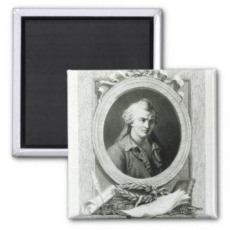 Luc de Clapiers  Marquis of Vauvenargues Magnet