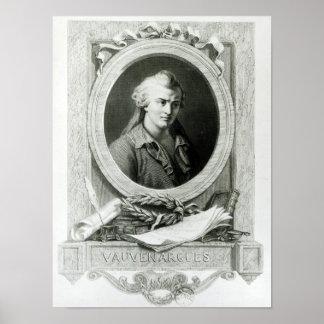 Luc de Clapiers  Marquis of Vauvenargues Poster