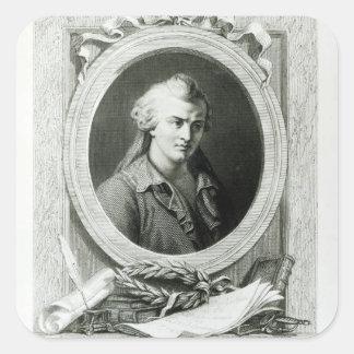 Luc de Clapiers  Marquis of Vauvenargues Sticker