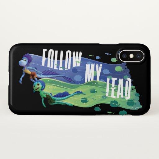 Luca | Alberto & Luca - Follow My Lead iPhone X Case