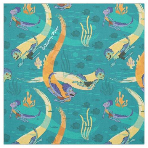 Luca | Alberto & Luca Swim With Fish Pattern Fabric