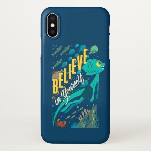 Luca | Believe in Yourself iPhone X Case