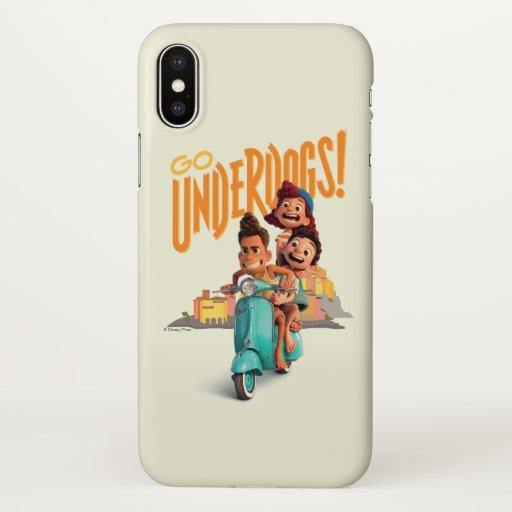 Luca | Go Underdogs! iPhone X Case
