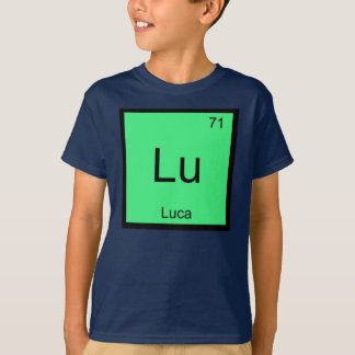 Luca  Name Chemistry Element Periodic Table T-Shirt
