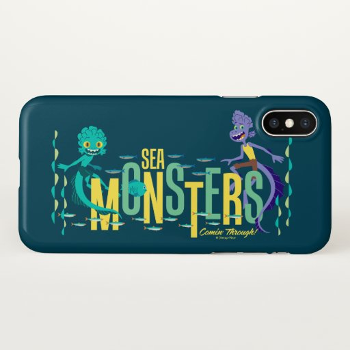 Luca | Sea Monsters Comin' Through! iPhone X Case