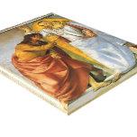 Luca Signorelli: Cristo y el Thomas que duda Lona Envuelta Para Galerias