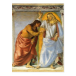 Luca Signorelli: Cristo y el Thomas que duda Tarjeta Postal