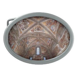 Luca Signorelli: Frescos en la capilla de San Briz Hebilla De Cinturón Oval