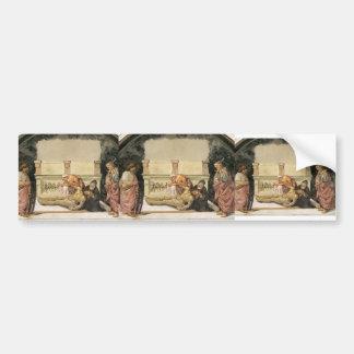 Luca Signorelli: Lamentation over the Dead Christ Car Bumper Sticker