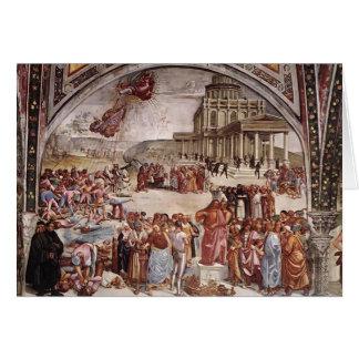 Luca Signorelli: Los hechos del Antichrist Felicitacion
