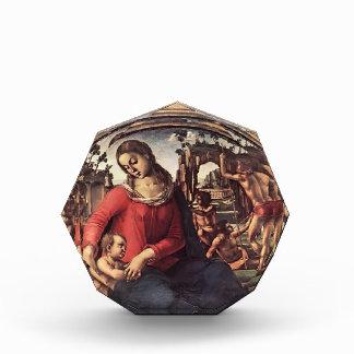 Luca Signorelli- Madonna y niño con los profetas