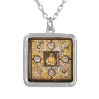 Luca Signorelli: Ovid Square Pendant Necklace