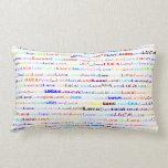 Luca Text Design II Lumbar Pillow