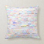 Luca Text Design II Throw Pillow