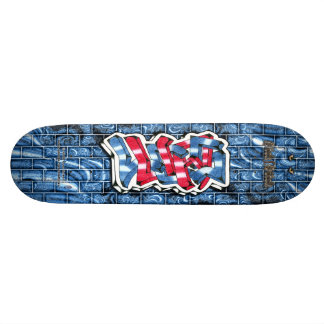 Lucas 03 ~ Custom Graffiti Art Pro Skateboard