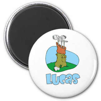 Lucas 2 Inch Round Magnet