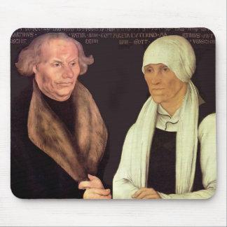 Lucas Cranach el Hans y el Magrethe más viejos Lut Tapete De Ratón