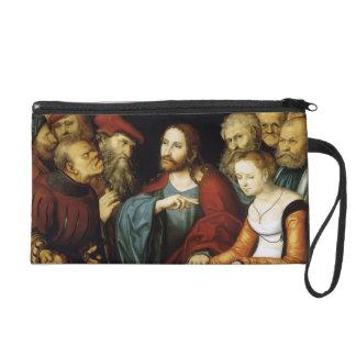 Lucas Cranach el más viejo Cristo y la adúltera