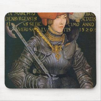 Lucas Cranach el retrato más viejo de Joaquín II Mouse Pad