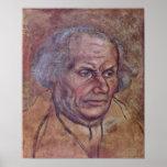 Lucas Cranach (i) - retrato del padre de Luthers Posters