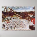 Lucas Cranach la anciano la fuente de la juventud Posters