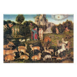Lucas Cranach la anciano - paraíso Impresiones